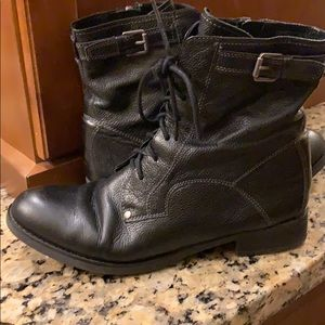 Franco Sarto black boots sz 9
